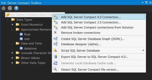 SQLServerCompactToolBox